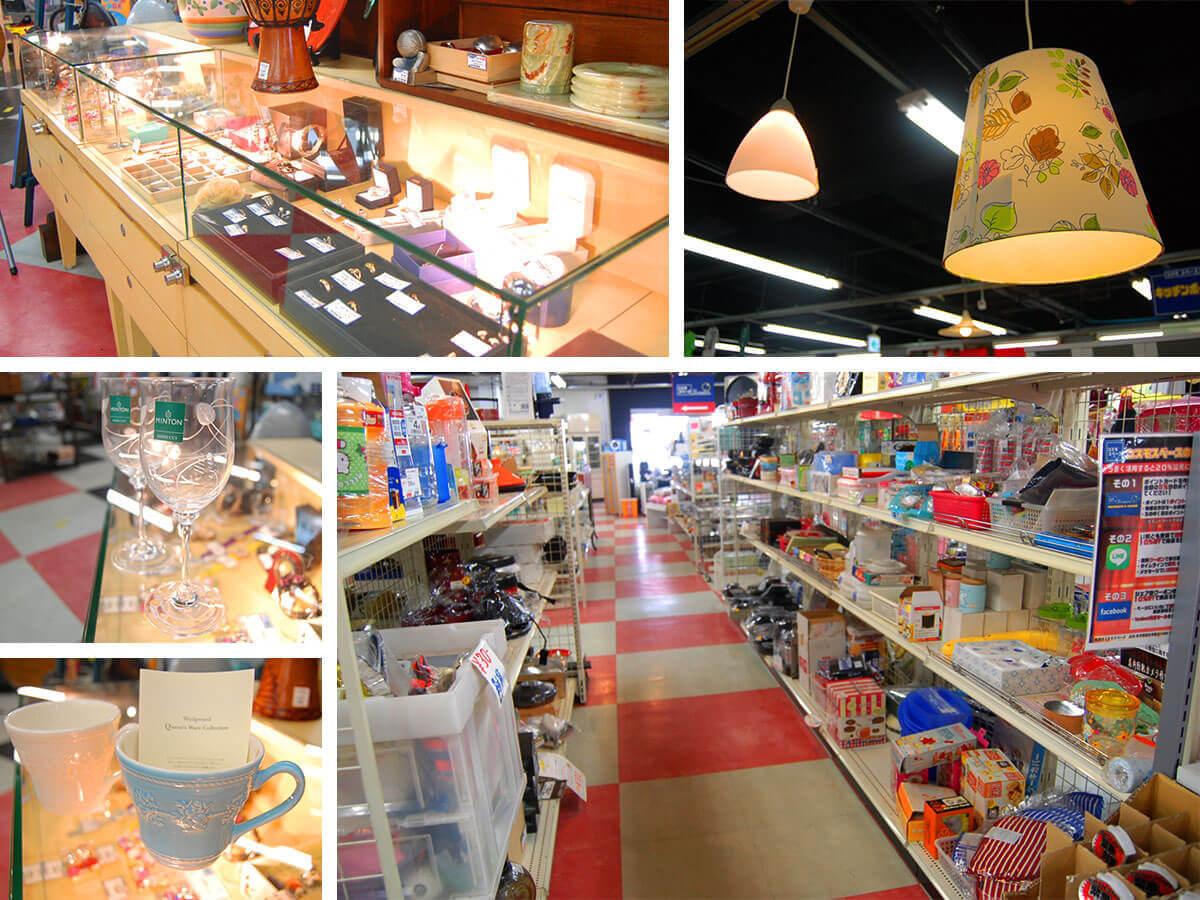 総合リサイクルショップのコスモスペース福生店