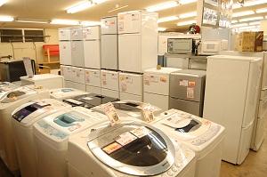 コスモスペースでは4.2kg洗濯機・5kg洗濯機・洗濯乾燥機・ドラム式洗濯機などの多くの電化製品の買取(出張買取)と販売をしています!