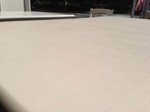 ダイニングテーブル塗装面写真