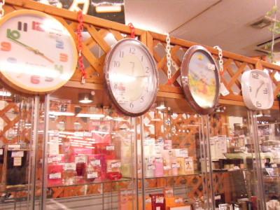 たくさん時計