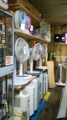 扇風機・除湿機