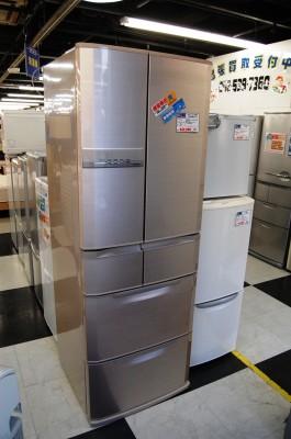 出張買取後の冷蔵庫
