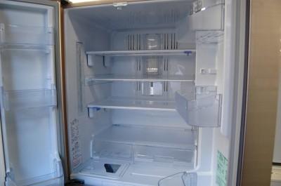 出張買取後の大型冷蔵庫