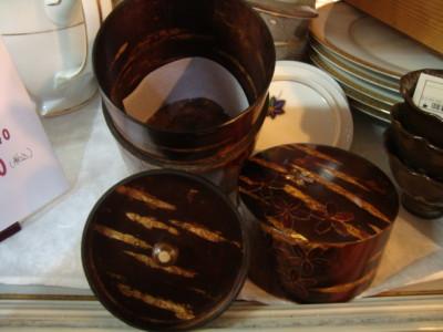 天然木茶筒2
