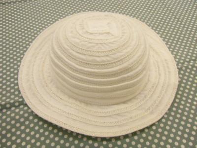 POMPKINS 白 帽子