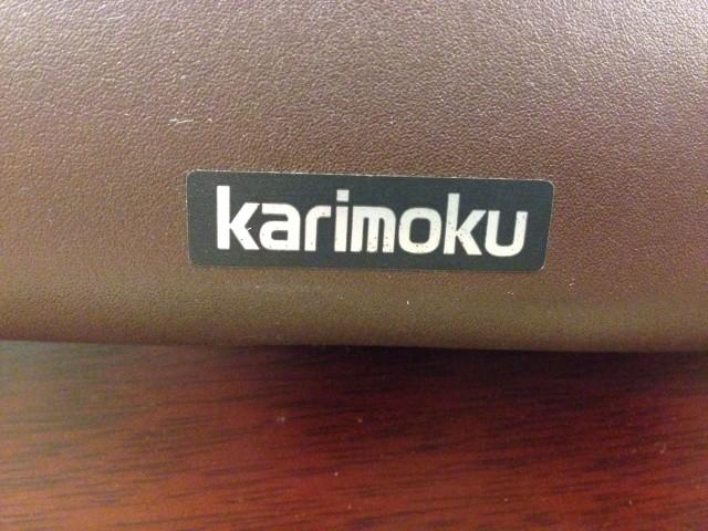 カリモク応接ソファセット 3