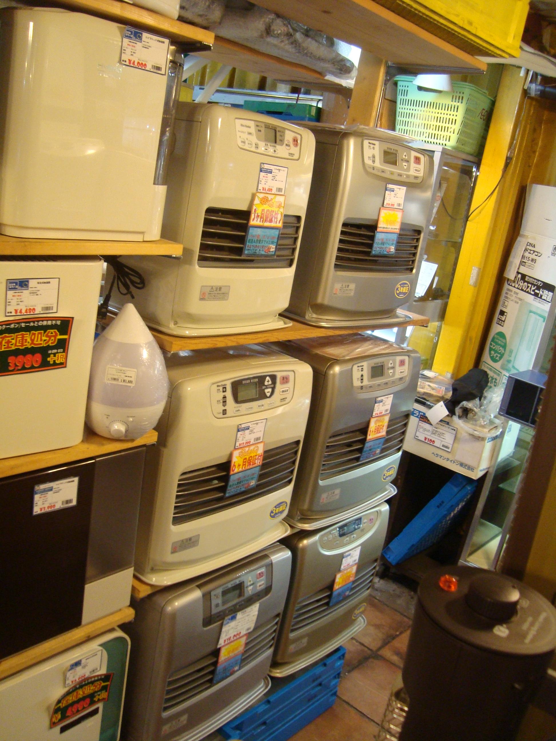 戸田石油ファンヒーター