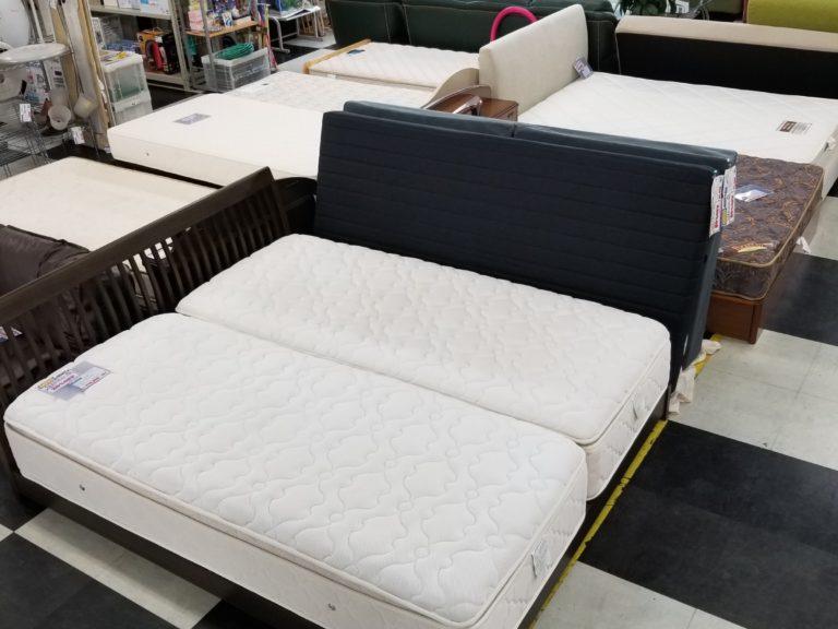 様々なベッドを展示してます!