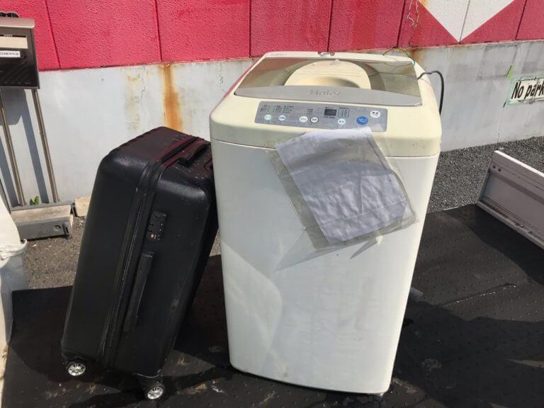 洗濯機廃家電処分の回収