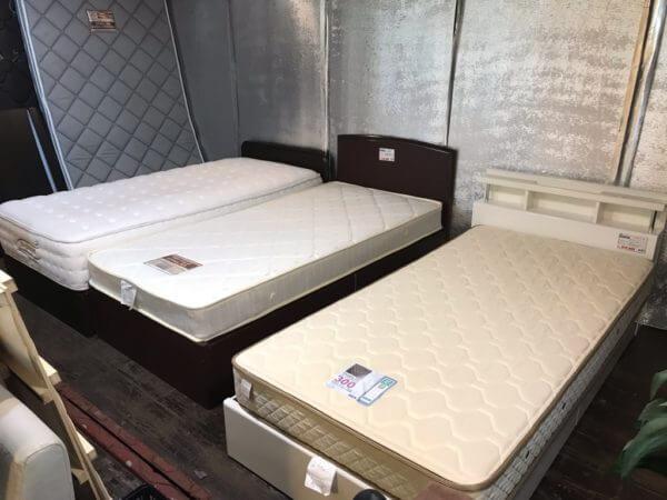 各種ベッド売り場 中古品