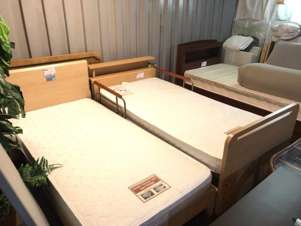 ベッド売り場 リサイクルショップ