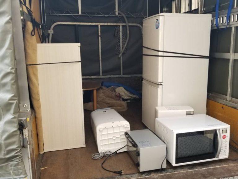 昭島市の急な引っ越しによる家電製品の回収