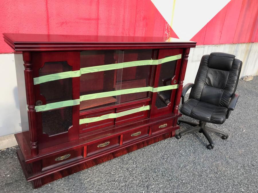 サイドボードの不用品回収、粗大ごみ処分、遺品整理
