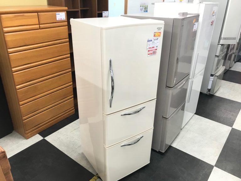 日立 R-S27CMV 3ドア冷蔵庫