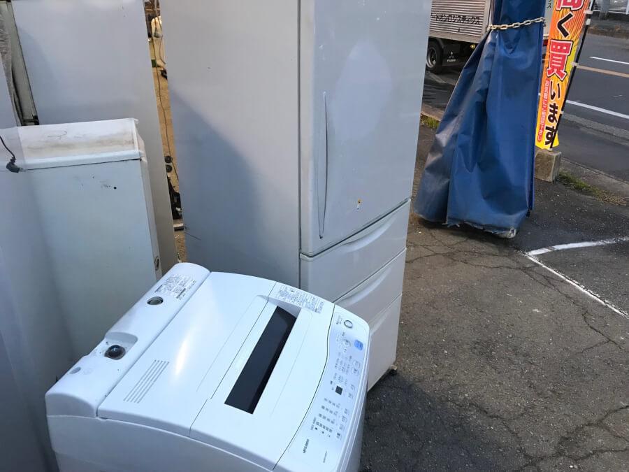 冷蔵庫と洗濯機の不用品回収