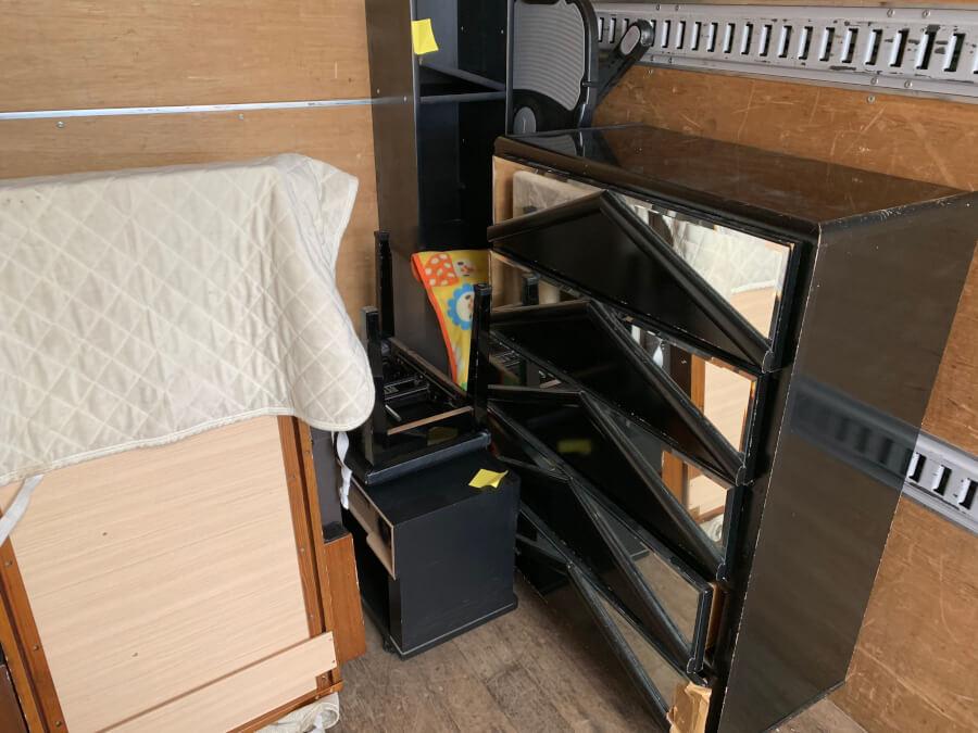 不用品回収、粗大ごみ処分、大型家具