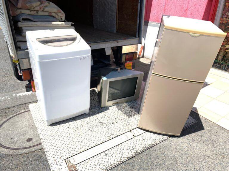 立川市の家電リサイクル処分