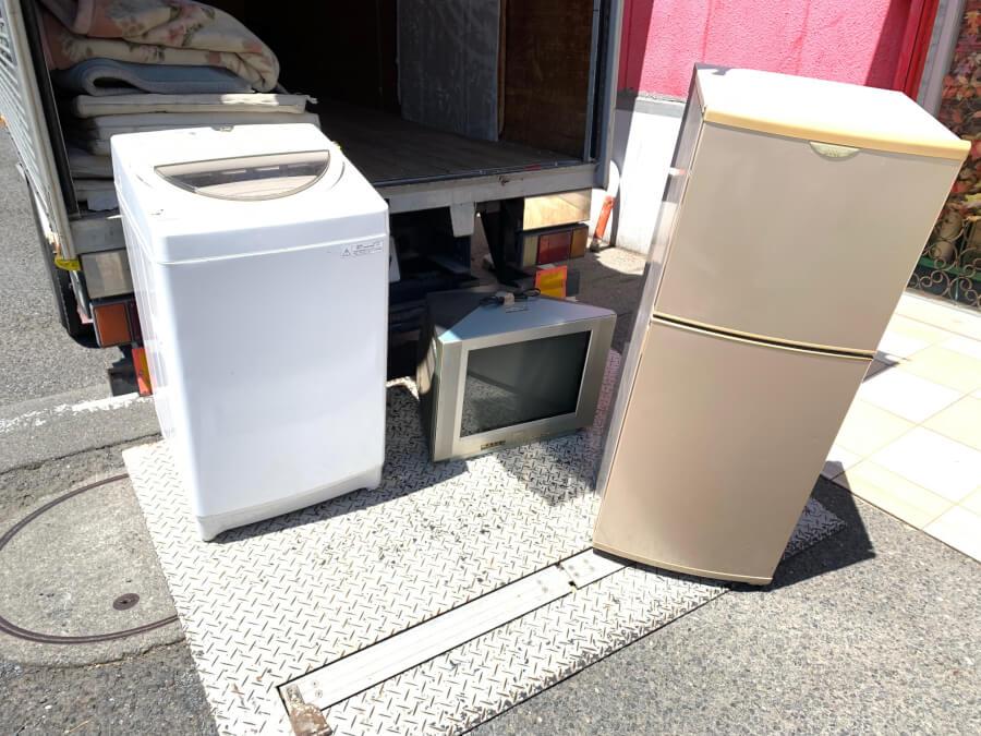 冷蔵庫洗濯機の不用品回収、リサイクル家電処分