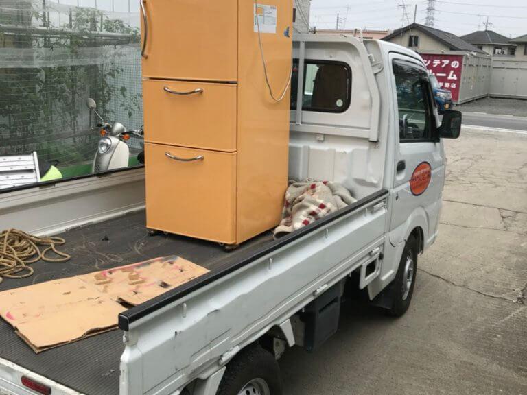 3ドア冷蔵庫の家電リサイクル処分