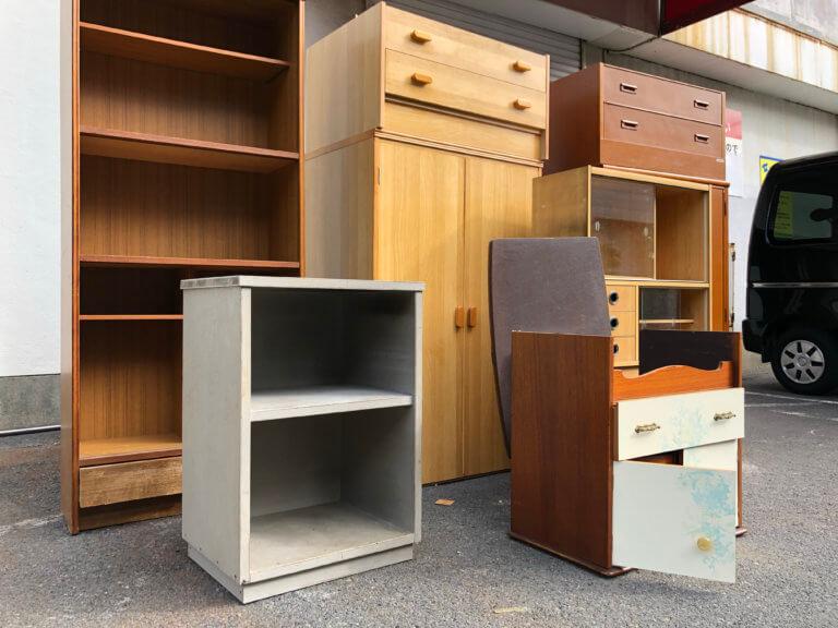 戸田市内家具の不用品回収